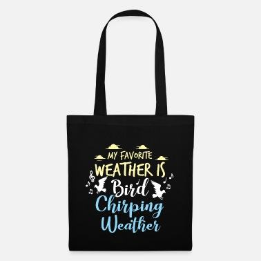 Lover Birds Bird Lover Chirping Weather Gift Idea - Tote Bag