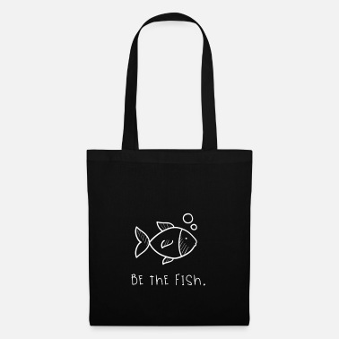 Adult Swim Be the fish swim - Tote Bag