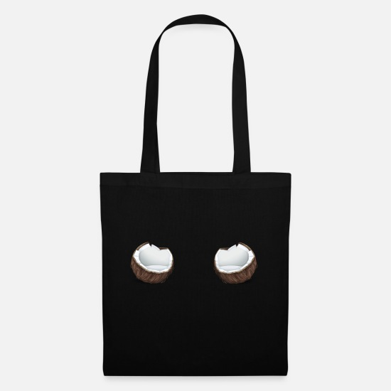 Gift Idea Bags & Backpacks - Coconut / coconut - Tote Bag black