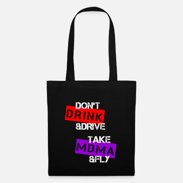 Techno Party Rave techno party - Tote Bag