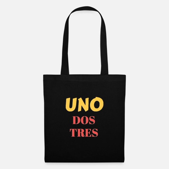 Gift Idea Bags & Backpacks - Uno Dos Tres - Tote Bag black