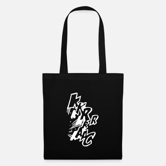 Gift Idea Bags & Backpacks - Speech bubbles in the comic booklet - Tote Bag black