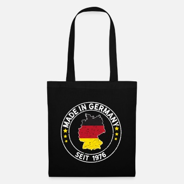 Year Of Birth Made In Germany Since 1976 Birthday Gift Idea - Tote Bag