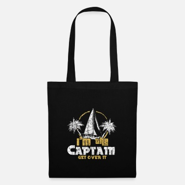 Captain Beach with sailing gift - Tote Bag