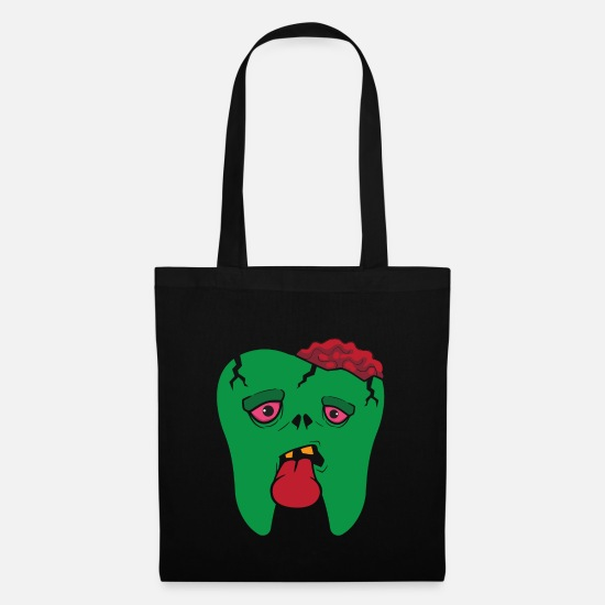 Love Bags & Backpacks - Zombie Tooth Tooth - Tote Bag black