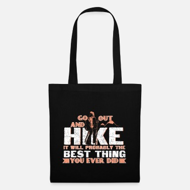 Nordic Walking Hiking mountain hiking - Tote Bag