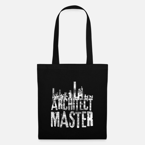 Gift Idea Bags & Backpacks - Architect architecture - Tote Bag black