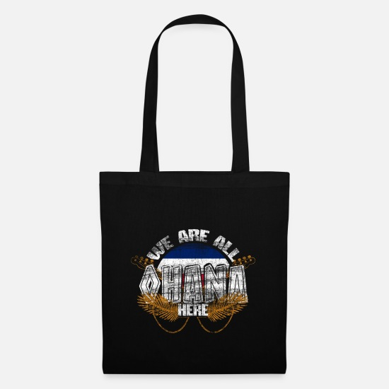 Travel Bags & Backpacks - Hawaii gift - Tote Bag black