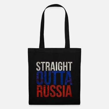 Em Straight Outta Russia Grunge Straight out of Russi - Tote Bag