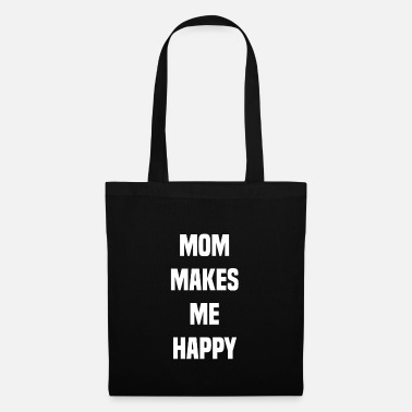 Bull Terrier Mom makes me happy 2 - Tote Bag