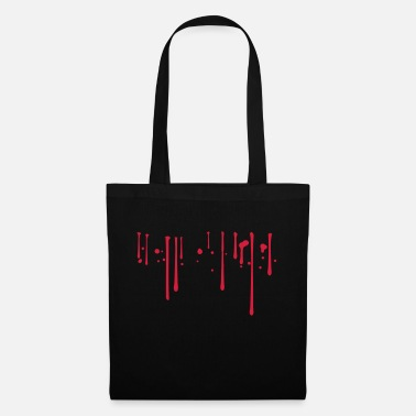 Bleed Blood drops - Tote Bag