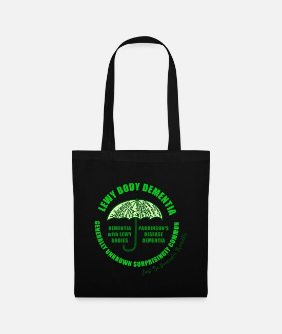 Vascular Dementia Bags & Backpacks - Lewy Body Dementia - Tote Bag black