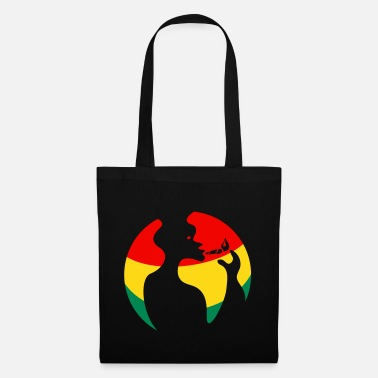 Ombre World of Reggae - Sac en tissu