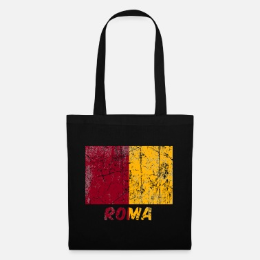 Bandera city flag Rome Stadtfahne Rom flag Rome - Tote Bag