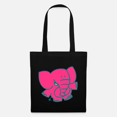 Little Elephant by Cheerful Madness!! - Tote Bag