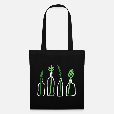 Plant Grounds Plant Graphic Plant In Bottle - Tote Bag