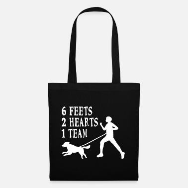 Canicross Hovawart jogging dog dog saying sport - Tote Bag