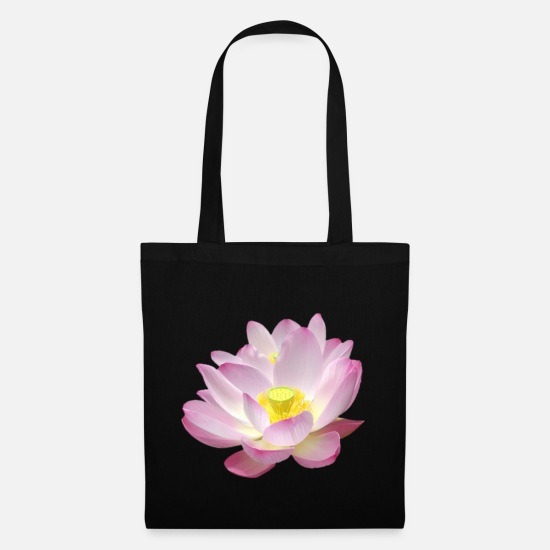 Lotus Flower Bags & Backpacks - Original Lotus flowers - Tote Bag black