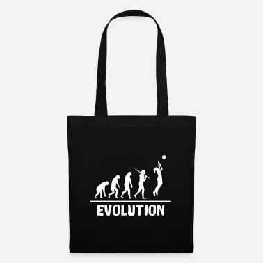 Comics Evolution volleyball, sport, gift idea - Tote Bag