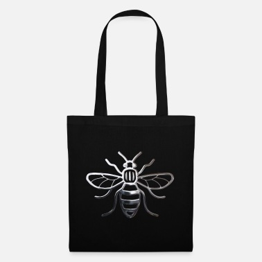Bee Manchester Bee - Chrome Effect - Tote Bag
