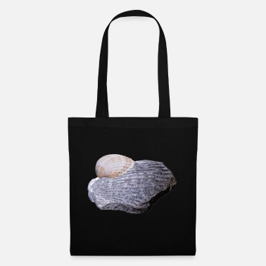 Petrified Petrified shell, one hundred million years old - Tote Bag