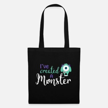 Parent Parents - child - Partnerlook - Monster parents - Tote Bag