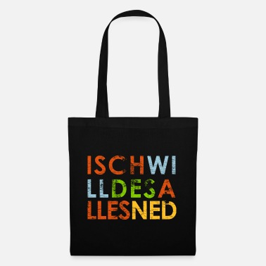 I don't want all this - Tote Bag