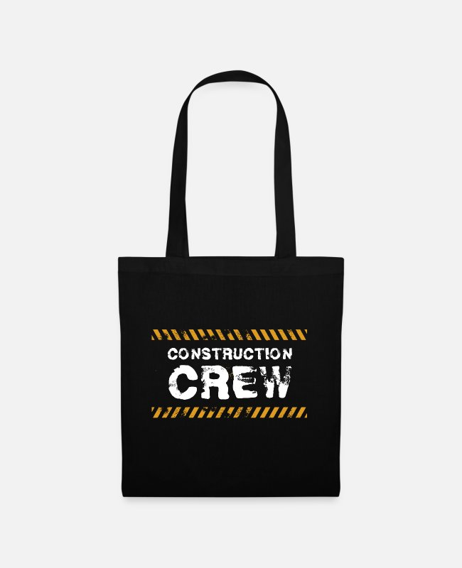 Hammer Bags & Backpacks - Construction Worker Construction Site Construction Crew Gift - Tote Bag black