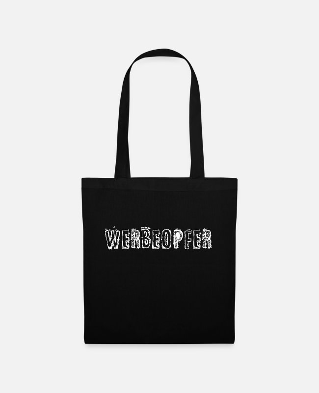 Consumption Bags & Backpacks - advertising victims - Tote Bag black