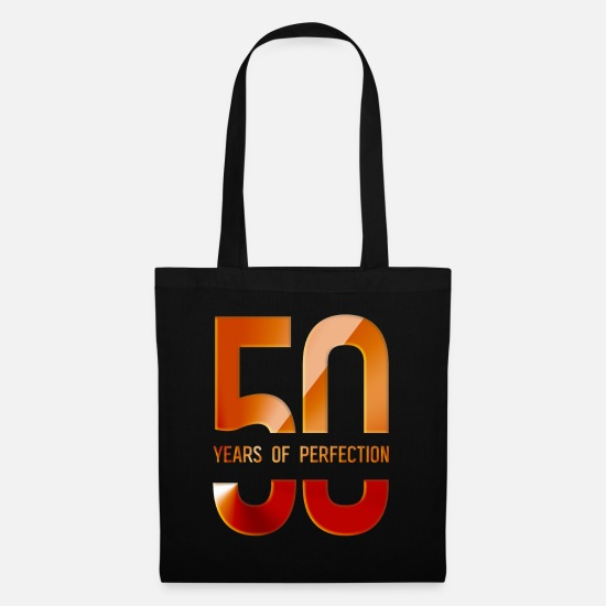 Old Bags & Backpacks - 50 Years Of Perfection - 50 years of perfection - Tote Bag black