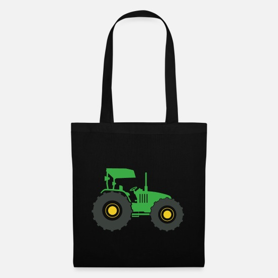 Fan Article Bags & Backpacks - Tractor fan - Tote Bag black