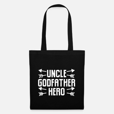 Niece Idea Uncle Godfather Hero - Tote Bag
