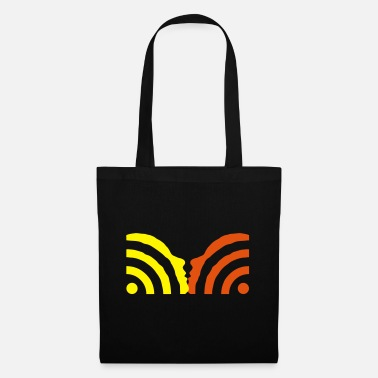 Humor rss kiss - Tote Bag