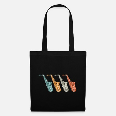 Sax saxophone orchestra - Tote Bag