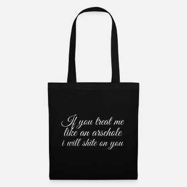 Humour Rude Message - Tote Bag