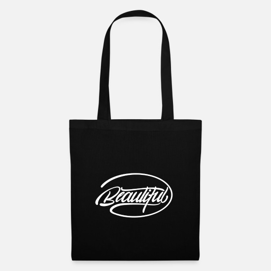 Beautiful Bags & Backpacks - Beautiful, beautiful - Tote Bag black