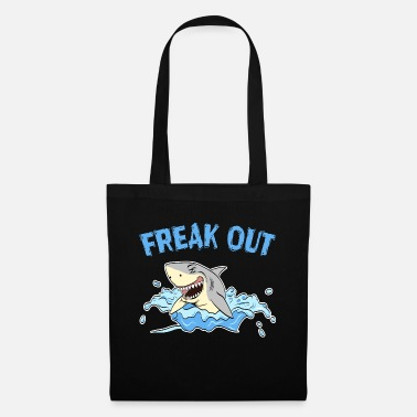 Mutant This Freakish Sharky motivation TShirt Perfect - Tote Bag