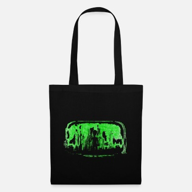 Alien invasion green - Tote Bag
