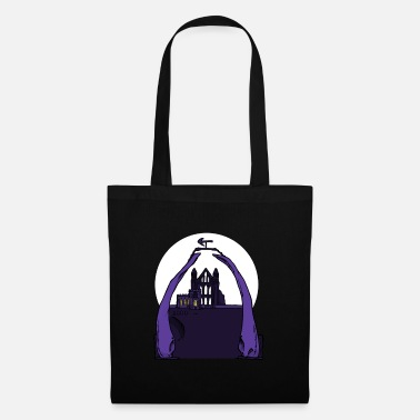 North Whitby Abbey & Whalebones - Tote Bag