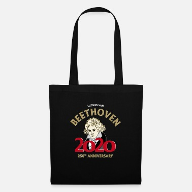 250 Years works - Beethoven 2020 - 250 years - black - Tote Bag