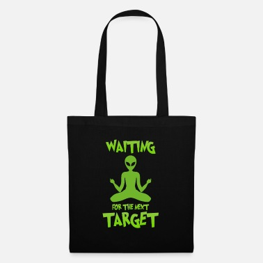 Alien Next target - Alien, Space, Planet - Tote Bag