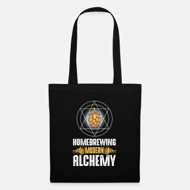 Leather Modern alchemy - brewers, home brews - Tote Bag