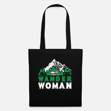 Bug Wander Woman - mountaineering, hiking - Tote Bag