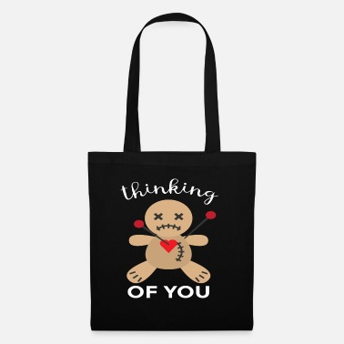 Occult Halloween Design for Voodoo Doll Lovers - Tote Bag