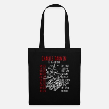 Darwin Charles Darwin World Tour Joke - Tote Bag