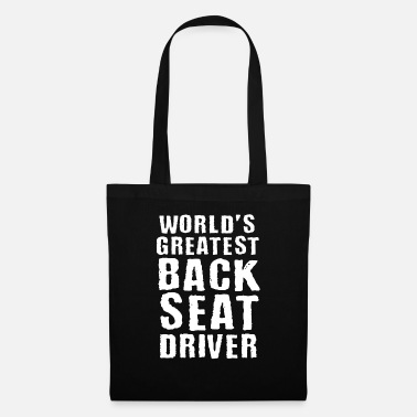 Passenger Cars Backseat Driver Funny Car Passenger - Tote Bag