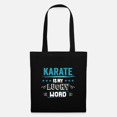 Champion Karate Lucky Word Sayings Funny Funny Gifts - Sac en tissu
