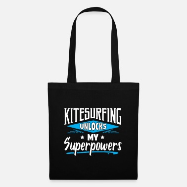 Witty Great Funny Kitesurfing Kiteboarder Sayings Jokes - Tote Bag