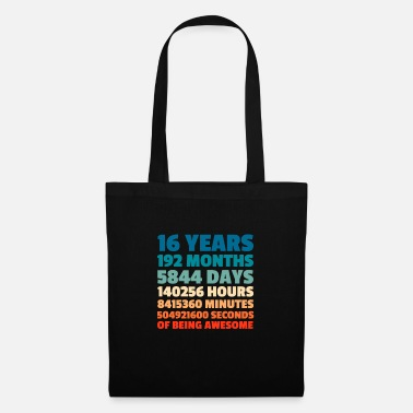Bday Party 16th Birthday 2003 2003 Bday Party Gift - Tote Bag