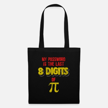 Science Student Computer Password Pi Day Pun Science Funny TShirt - Tote Bag